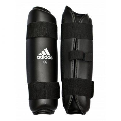 Adidas PU Shin Pads - Black