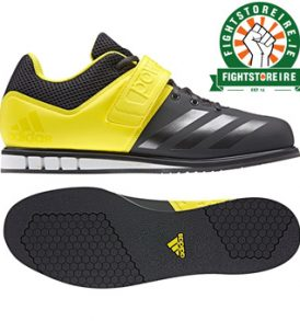 Adidas Powerlift 3 Weightlifting Shoes - Black/Yellow