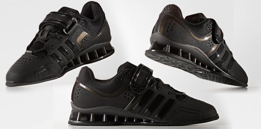 adipower weightlifting shoes black