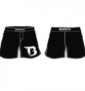 Booster PRO 17 MMA Shorts - Black