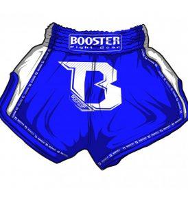 Booster PRO Muay Thai Shorts - Blue/White