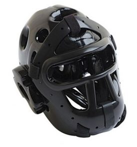 T-Sport Free Fighting Head Guard - Black