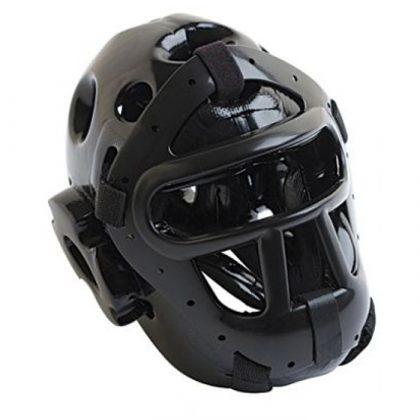 T-Sport Free Fighting Head Guard - Black
