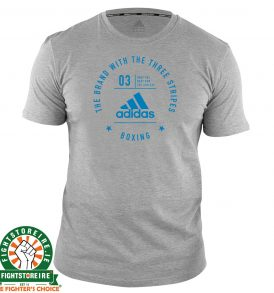 Adidas Boxing T-Shirt Grey/Blue