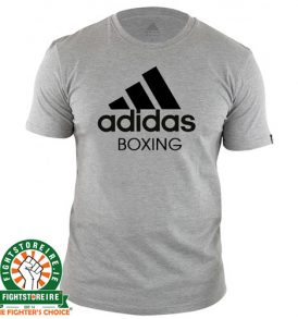 Adidas Boxing T-Shirt – Grey