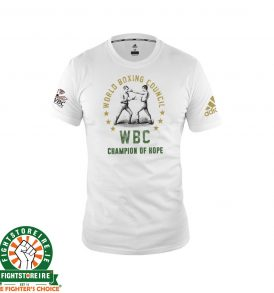 Adidas WBC Boxing T-Shirt - White