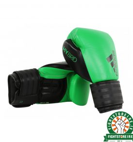 Adidas Hybrid 200 Boxing Gloves - Green/Black