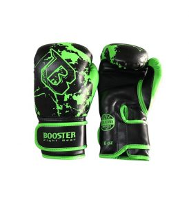 Booster Marble Green Kids Boxing Gloves