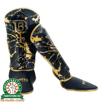 Booster Marble Gold Kids Shinguards
