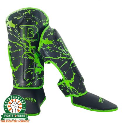 Booster Marble Green Kids Shinguards