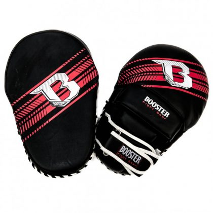 Booster PRO Range Curved Mitts - Black/Red