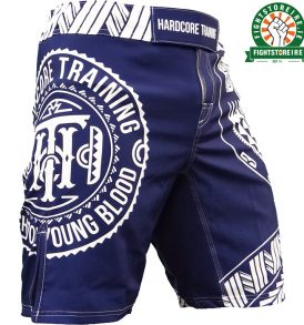 Hardcore Training Ta Moko Shorts - Blue