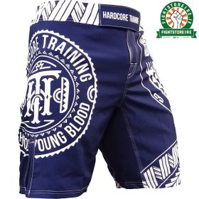Hardcore Training Ta Moko Shorts - Blue
