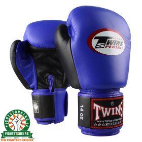 Twins Special BGVL 3 Thai Boxing Gloves - Blue/Black