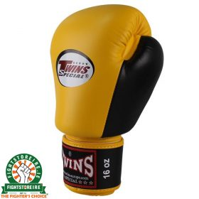 Twins Special BGVL 3 Thai Boxing Gloves - Yellow