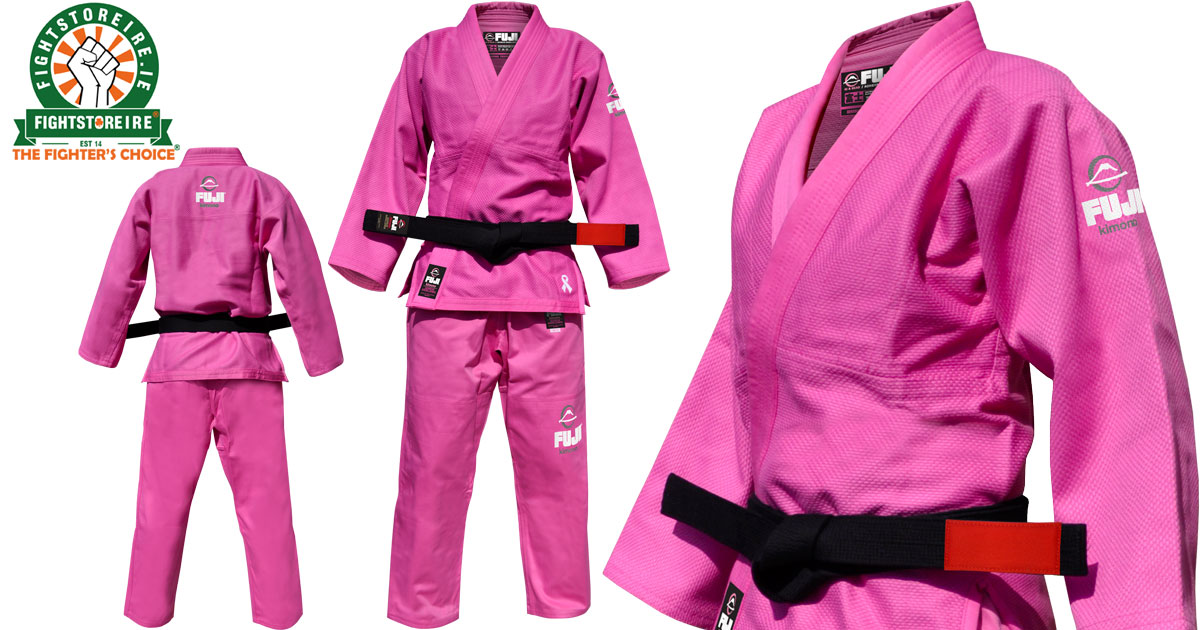FUJI All Around BJJ Gi Pink - Fight Store IRELAND | The Fighter's Choice!