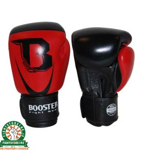 Booster Leather PRO SIAM Thai Boxing Gloves - Red