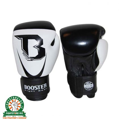 Booster Leather PRO SIAM Thai Boxing Gloves - White