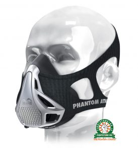 Phantom Training Mask - Silver