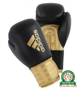 Adidas Hybrid 100 Boxing Gloves - Gold
