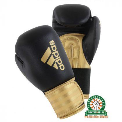 Adidas Hybrid 100 Boxing Gloves - Gold