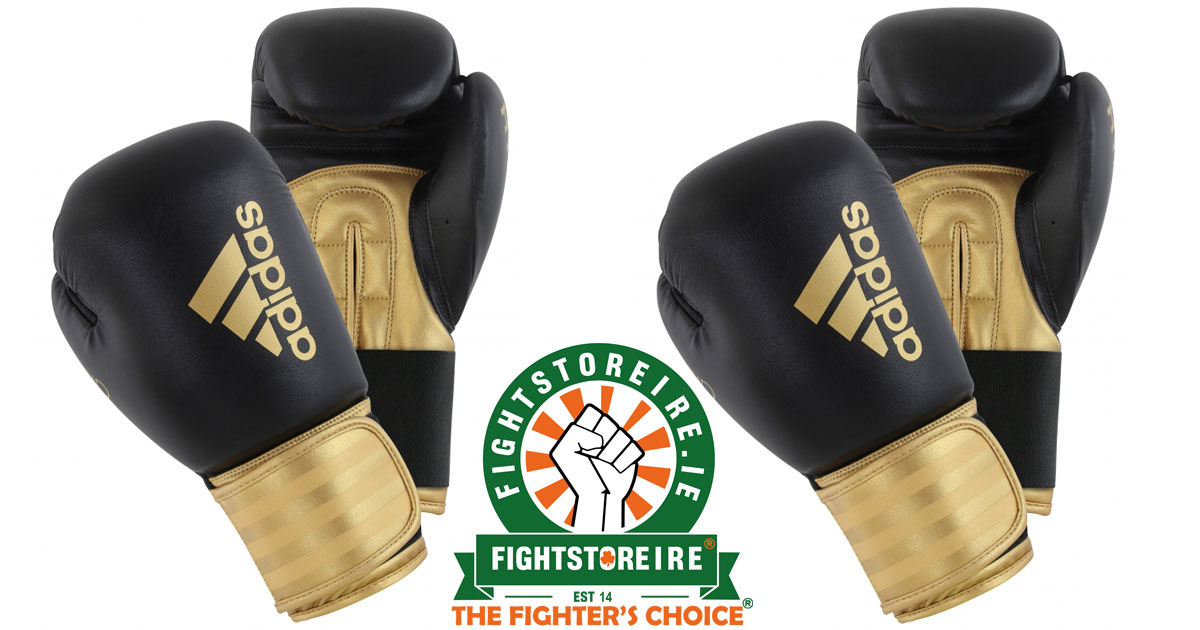 Adidas Hybrid 100 Boxing Gloves Gold Fight Store Ireland