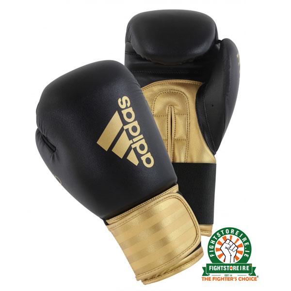 73fc5320e Adidas Hybrid 100 Boxing Gloves - Gold