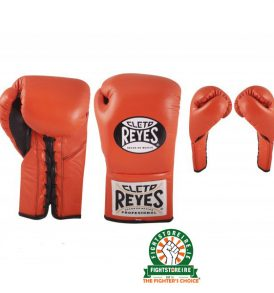 Cleto Reyes Official Boxing Gloves - Tiger Orange