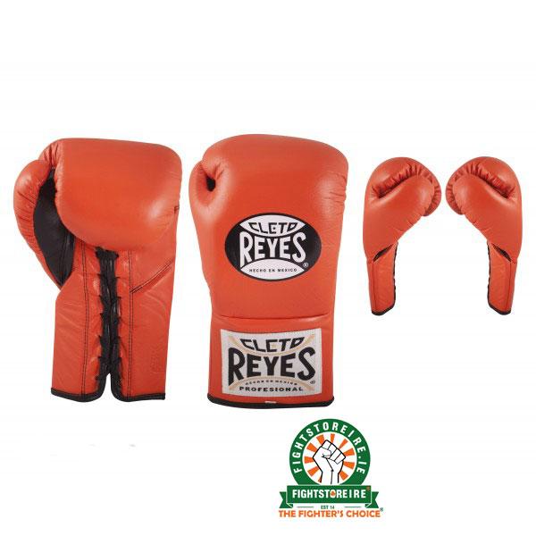 Cleto Reyes Official Boxing Gloves - Tiger Orange