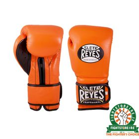 Cleto Reyes Velcro Sparring Gloves 14oz Orange