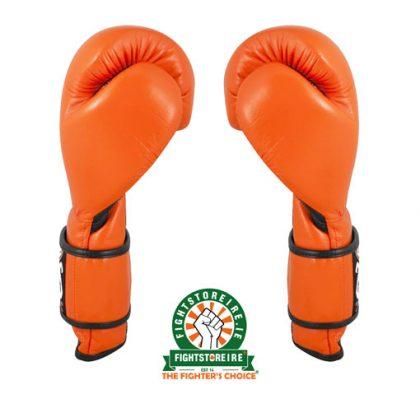 Cleto Reyes Velcro Sparring Gloves Tiger Orange