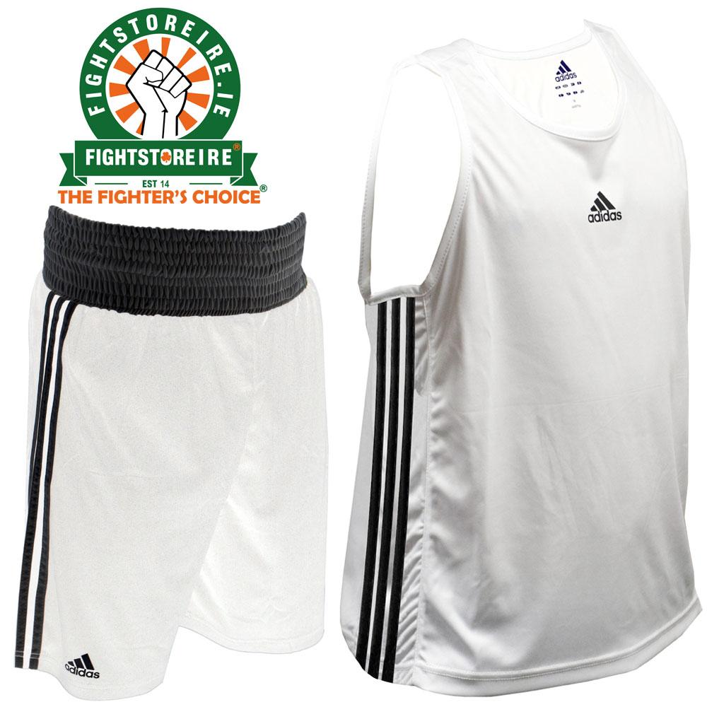 Adidas Base Punch White Boxing Vest