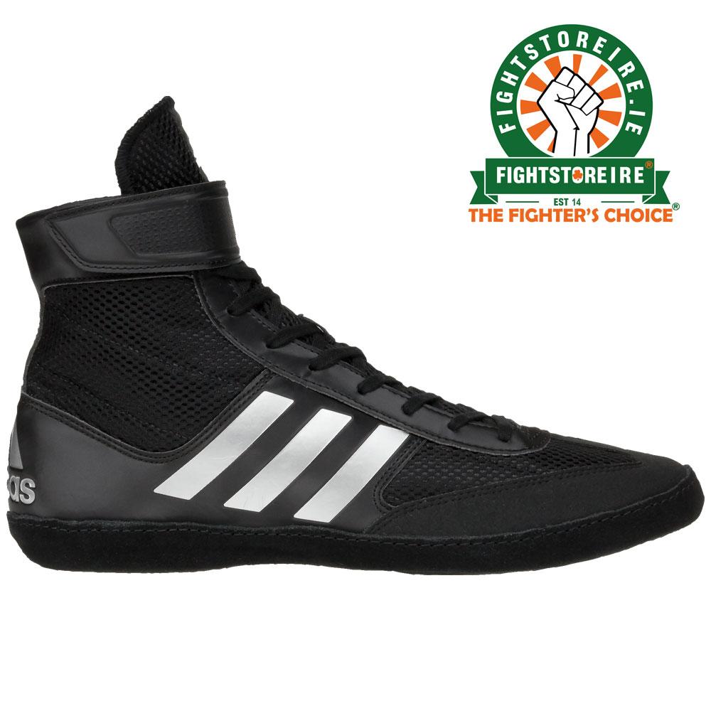 b6ec9441c77f Adidas Combat Speed 5 - Black Silver