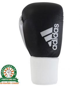 Adidas Hybrid 200 Pro Lace Boxing Gloves - Black