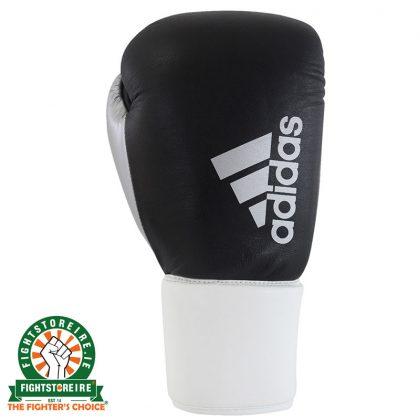 Adidas Hybrid 200 Pro Lace Boxing Gloves - Black