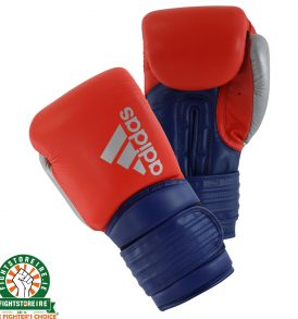 Adidas Hybrid 300X Boxing Gloves - Red/Blue