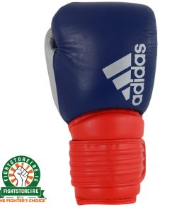 Adidas Hybrid 300 Boxing Gloves - Red/Blue