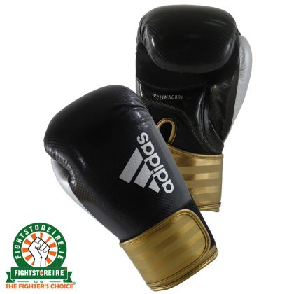 Adidas Hybrid 75 Boxing Gloves - Black/Gold