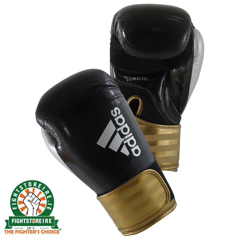 exquisite style great deals 2017 super cute Adidas Hybrid 75 Boxing Gloves - Black/Gold