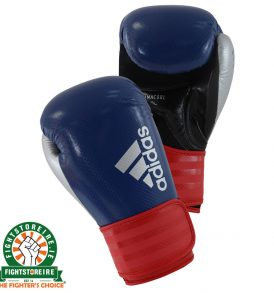 Adidas Hybrid 75 Boxing Gloves - Blue/Red