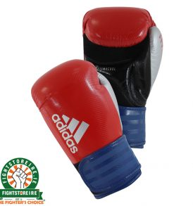Adidas Hybrid 75 Boxing Gloves - Red/Blue