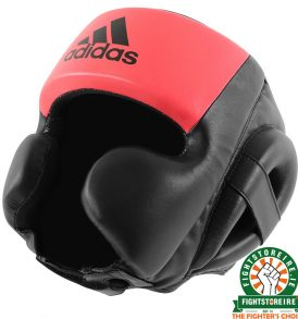Adidas Hybrid Sparring Headguard - Black/Red