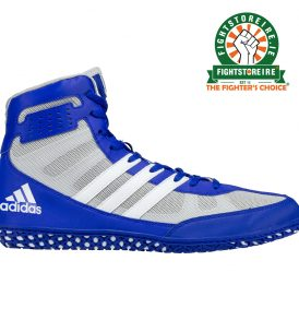 Adidas Mat Wizard 3 Wrestling Boots - Blue/White