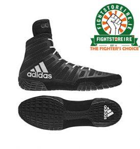 Adidas Varner Wrestling Boots - Black/White