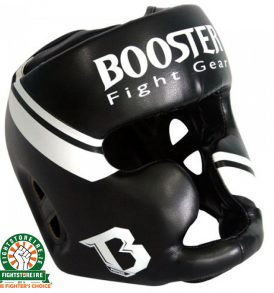 Booster Leather Headguard - Black