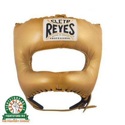 Cleto Reyes Traditional Pointed Nylon Bar Headguard Gold