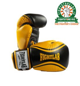 Fightlab Flo Muay Thai Gloves - Yellow/Black