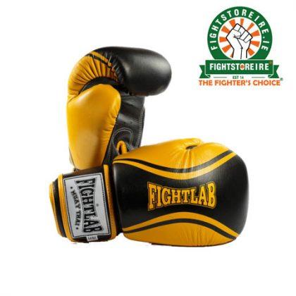 Fightlab Flo Muay Thai Gloves - Yellow/Black
