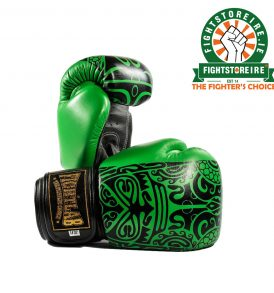 Fightlab Leather Maori Muay Thai Gloves - Green