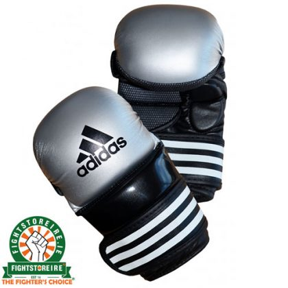 Adidas MMA Sparring Gloves - Silver/Black